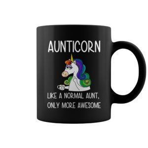 Aunticorn like a normal aunt only more awesome mug