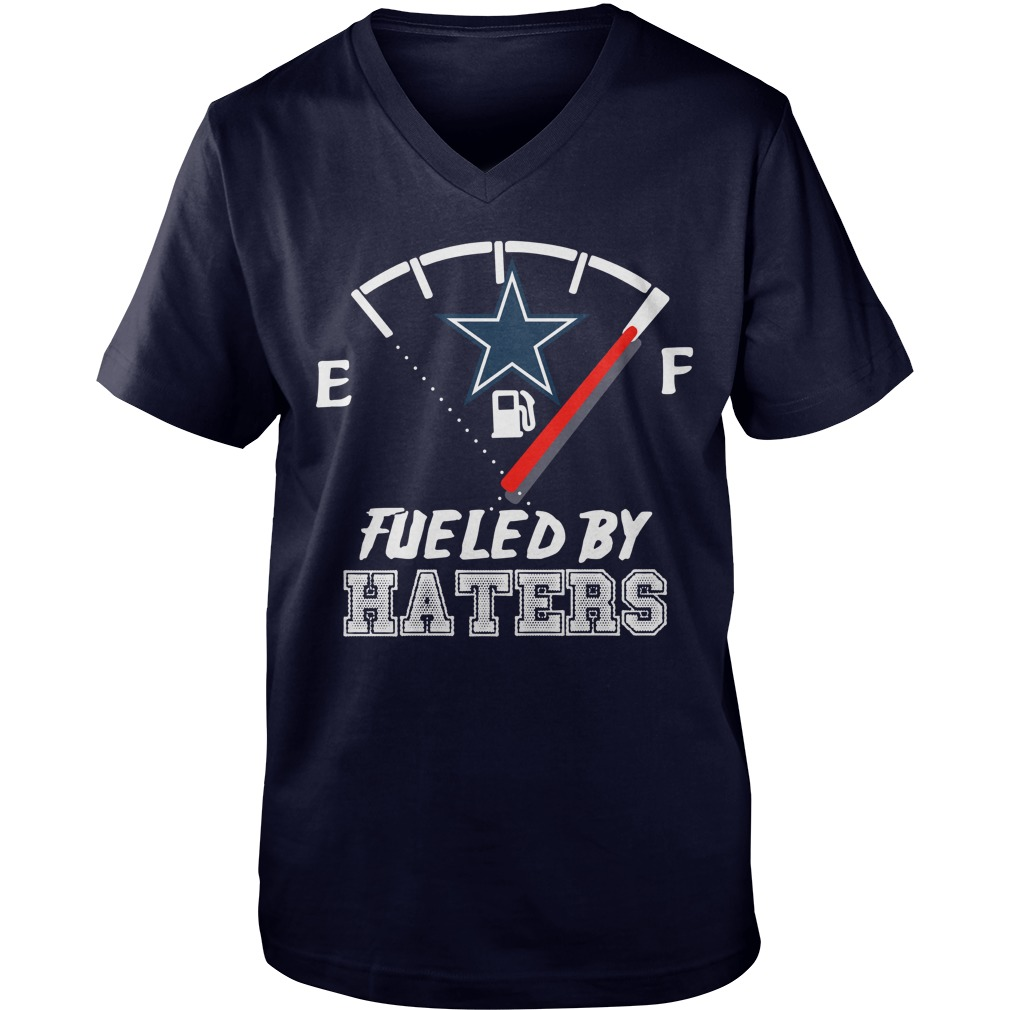 Dallas Cowboy fueled by haters guy v-neck