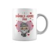 Dumble-adore you valentine white mug