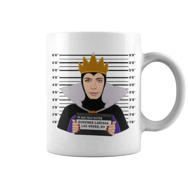 Evil Queen Larissa Who is Against the Queen Will Die mug