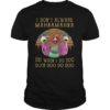 Muppet show I don't always mahna mahna but why I do doo doot unisex shirt