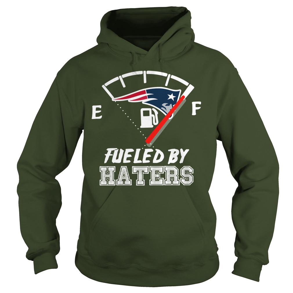 New England Patriots fueled by haters hoodie