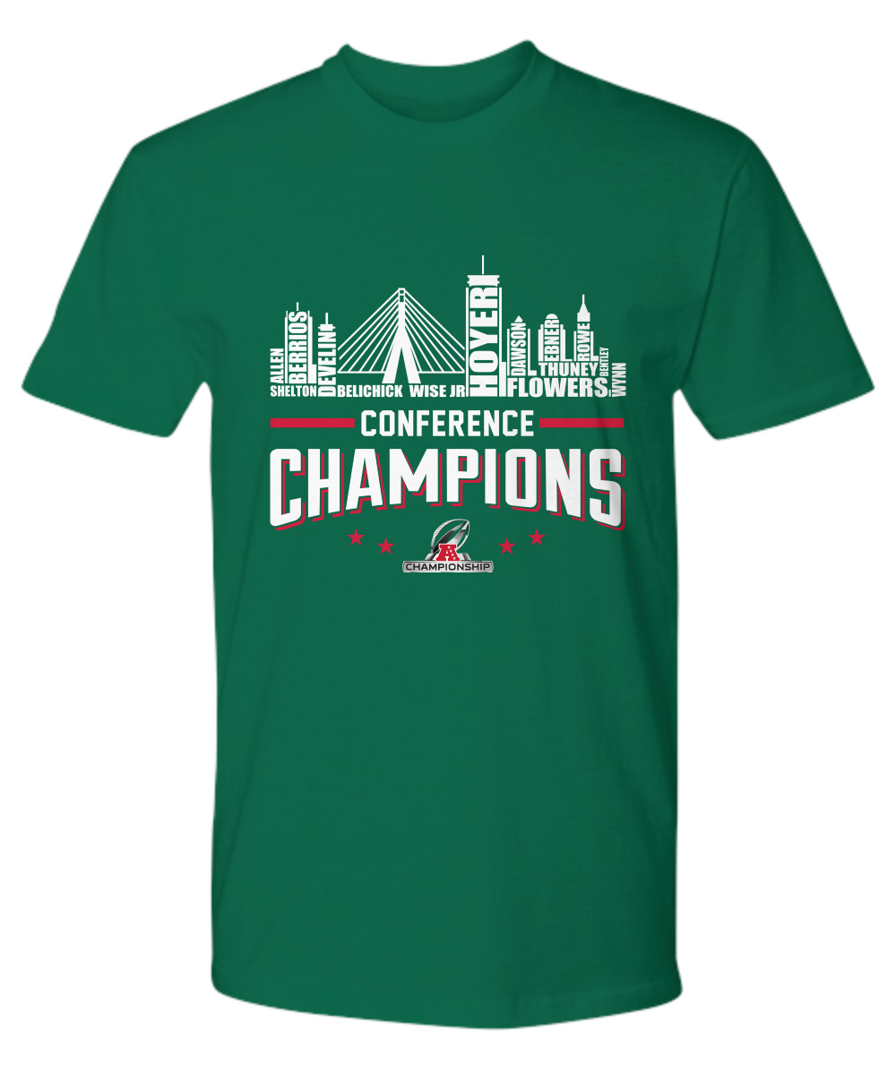 New England Patriots roster conference champions premium shirt