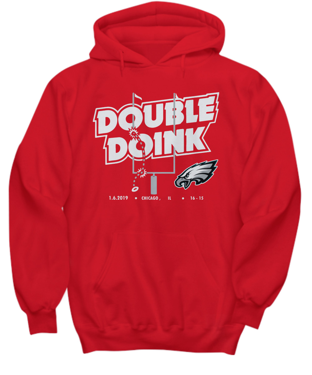 Philadelphia Eagles double doink hoodie