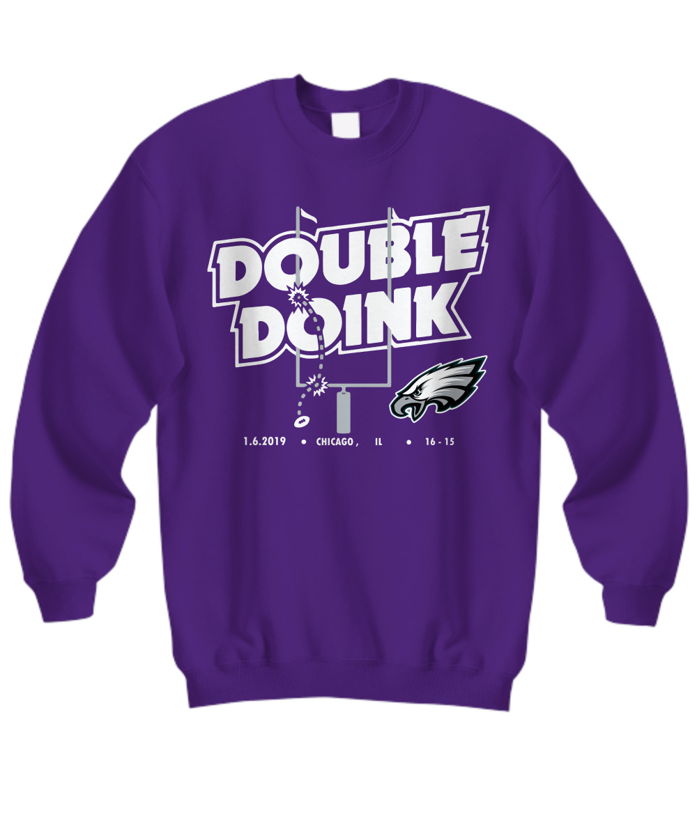Philadelphia Eagles double doink sweatshirt