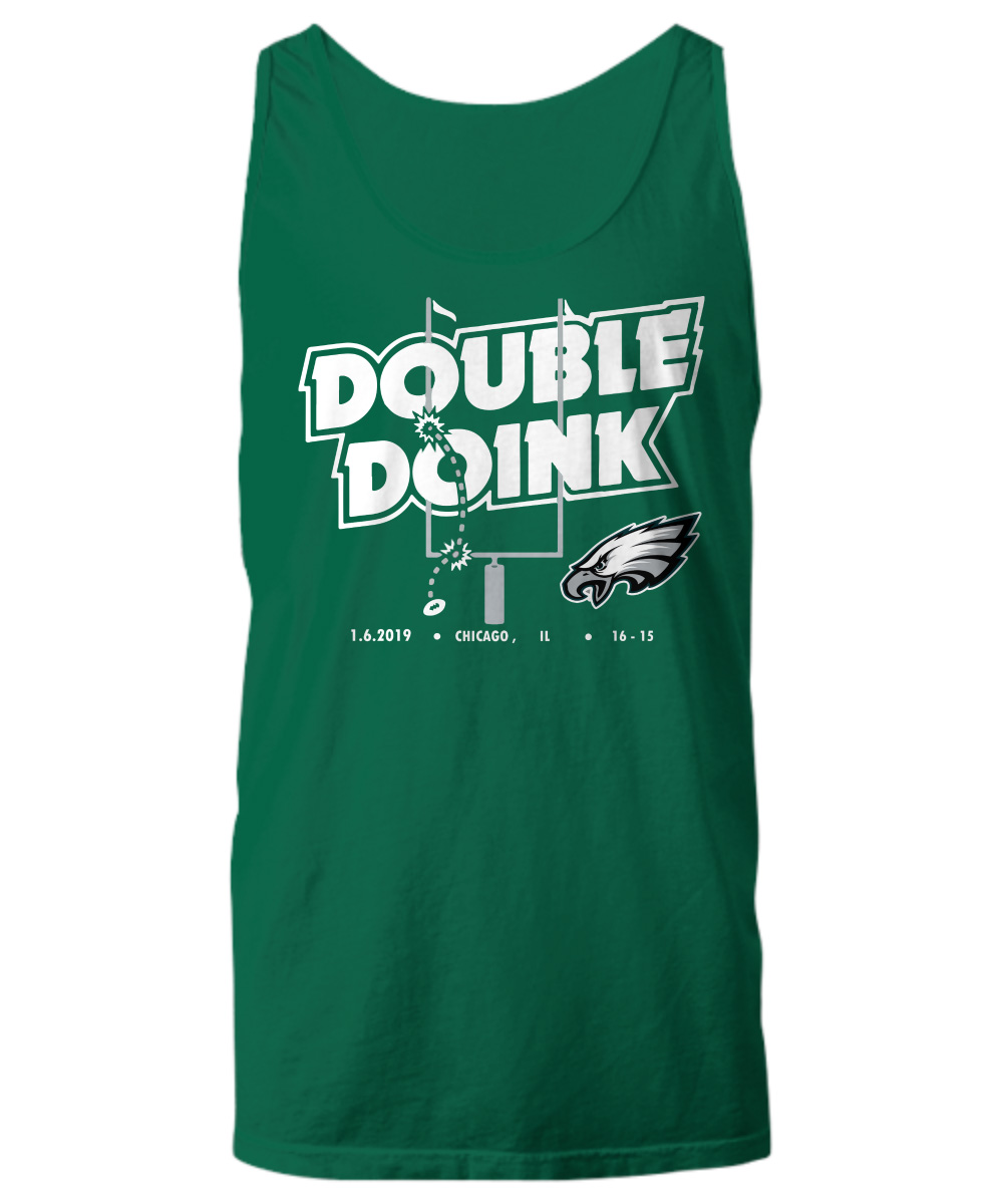 Philadelphia Eagles double doink tank top
