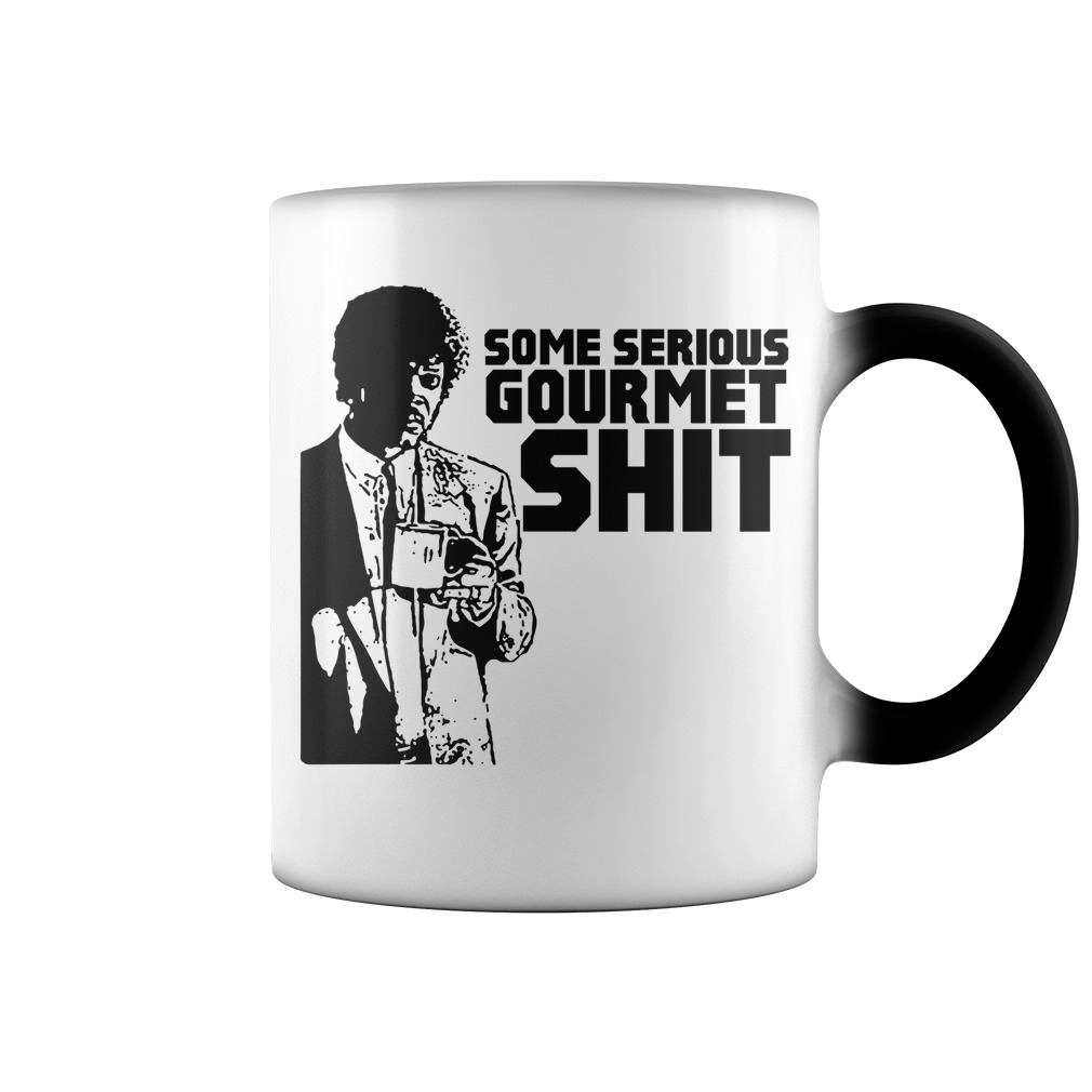Pulp Fiction Some Serious Gourmet Shit color change mug