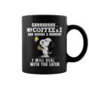 Snoopy and Woodstock shhh my coffee and I are having a moment I will deal with you later mug
