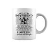 Viking to my boyfriend I wish I could turn back the clock mug