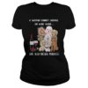 A woman cannot survive on wine alone she also need poodles lady shirt