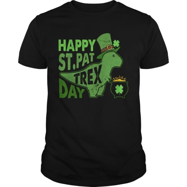 Irish Dinosaur Happy St. Pat T-Rex Day unisex shirt