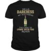 Jameson Irish whiskey hello darkness my old friend I've come to drink with you again unisex shirt