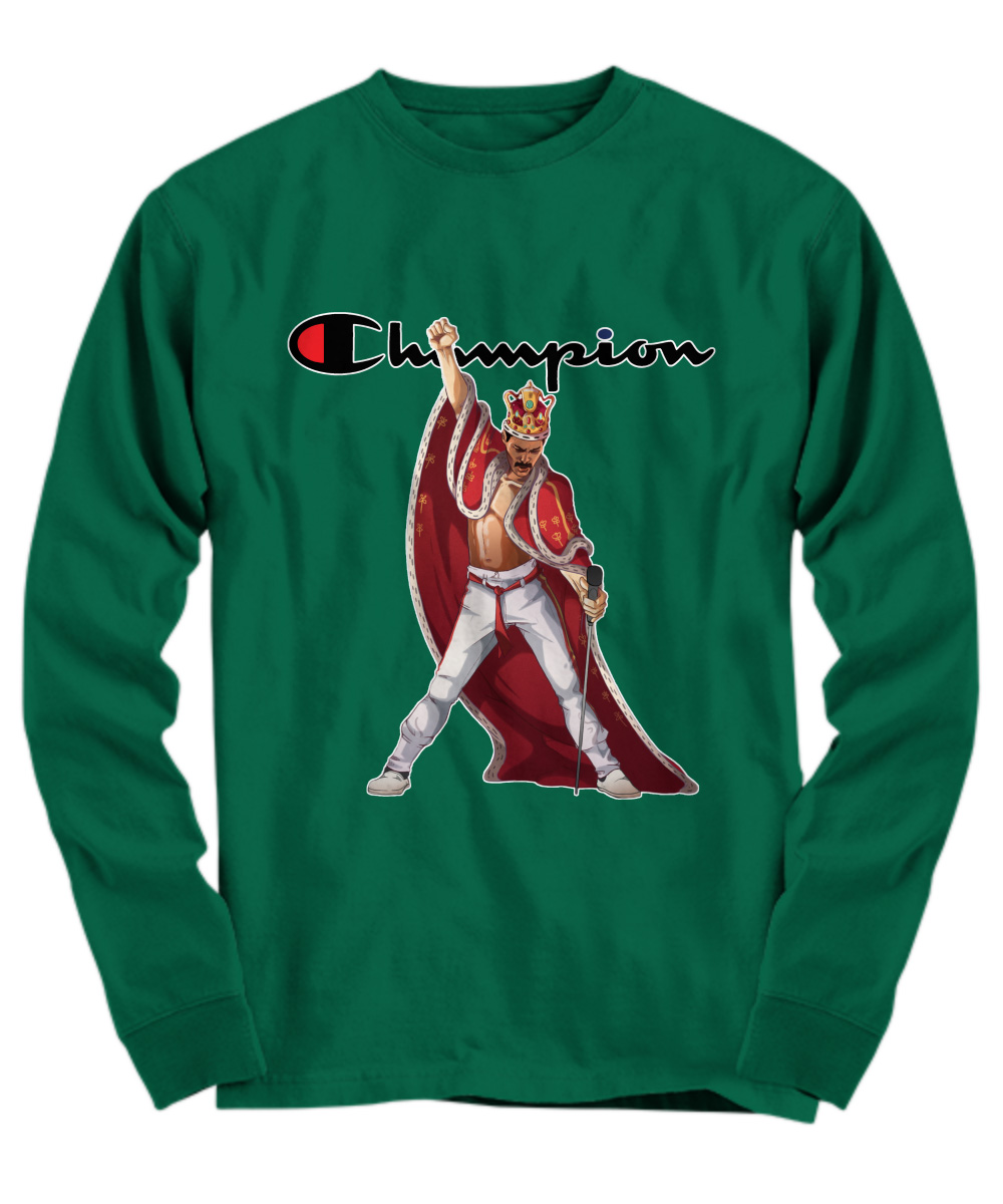 Queen Freddie Mercury Champion long sleeve