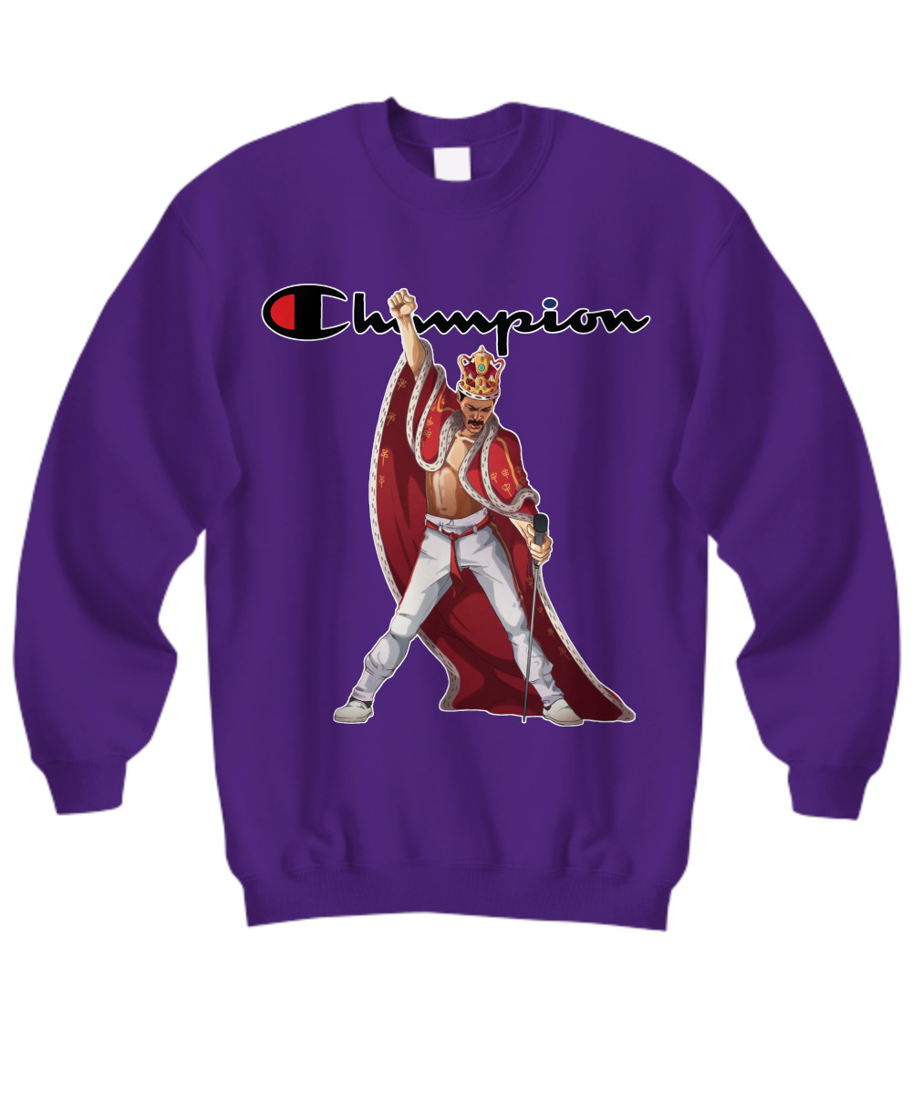 Queen Freddie Mercury Champion sweatshirt