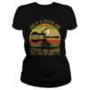 She's a good girl loves her mama Loves jesus and america too nature guitar vintage shirt