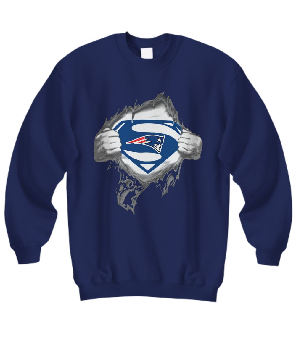 Superman New England Patriots sweatshirt