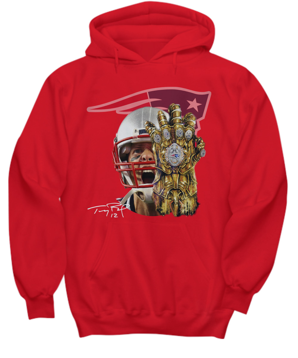 Tom Brady Infinity Gauntlet Patriot hoodie