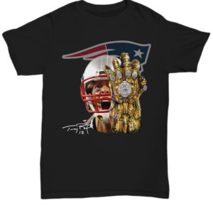 Tom Brady Infinity Gauntlet Patriot shirt