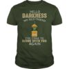 Tullamore Dew hello darkness my old friend I've come to drink with you again unisex shirt