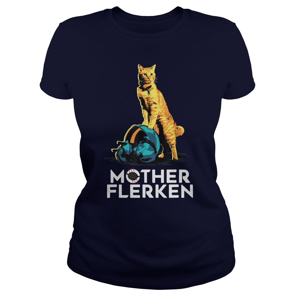 Captain Marvel Goose The Cat Mother Flerken lady shirt