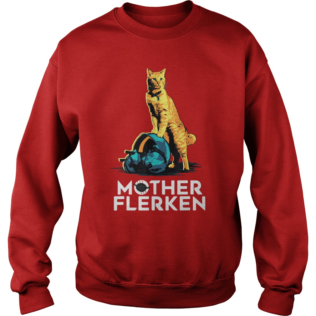 Captain Marvel Goose The Cat Mother Flerken sweatshirt