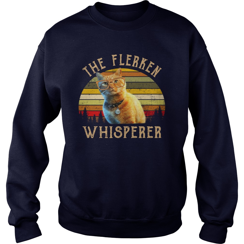 Captain Marvel goose the flerken whisperer sweatshirt