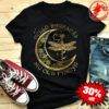 Dragonfly and moon hello darkness my old friend shirt