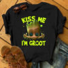 Kiss me I'm Groot St Patrick's Day shirt