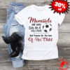 Mom sde one who sits at a ballpark and freezes for the love shirt
