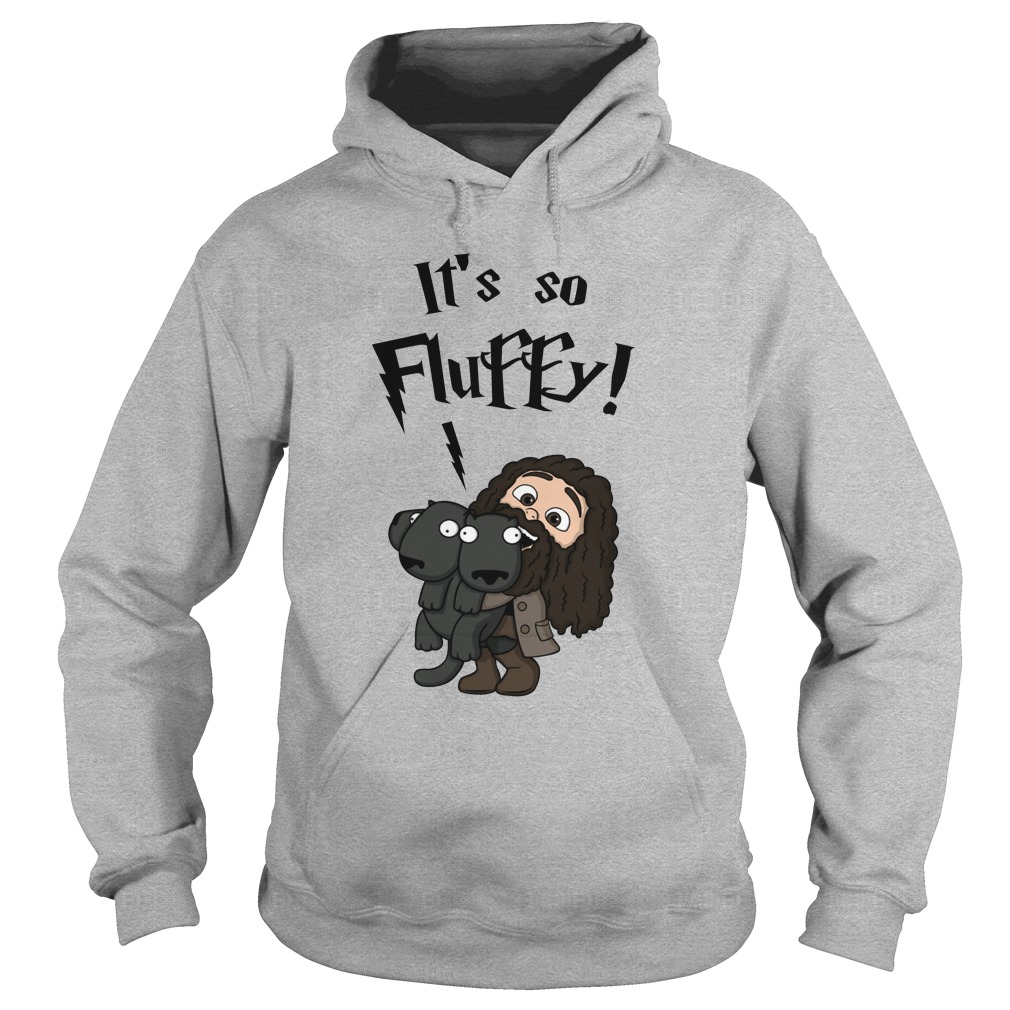 Rubeus Hagrid it's so fluffy hoodie