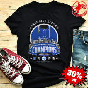 Duke blue devils 73 63 florida state seminoles shirt