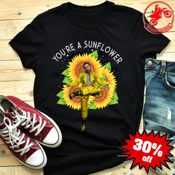 Post Malone you are sunflower shirt