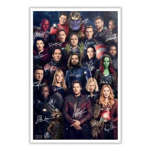 Avenger All Superheroes Poster