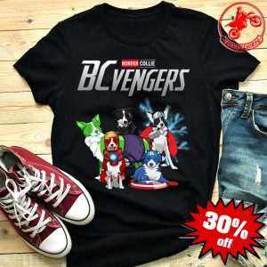 Border Collie Bcvengers Avengers Endgame Shirt