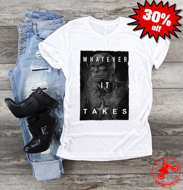 Captain America Whatever It Takes Shirt