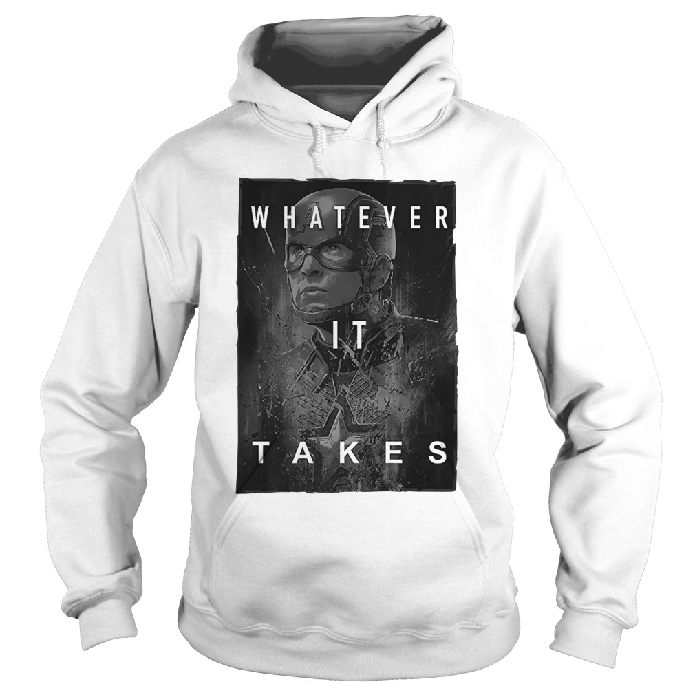 Captain America Whatever It Takes hoodie