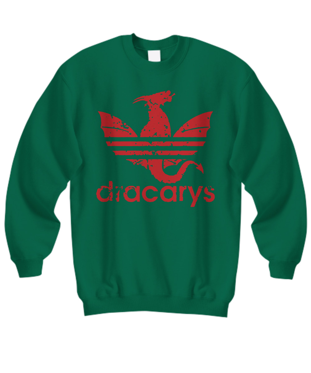 Dracarys Adidas Dragon Game Of Thrones sweatshirt