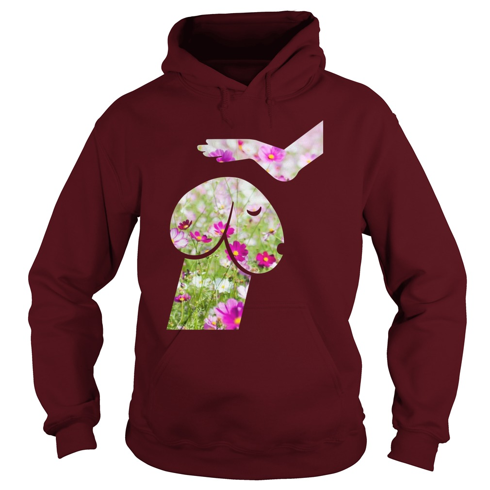 Floral Hippie Dickhead Dog Noma Bar Mans True Best Friend hoodie