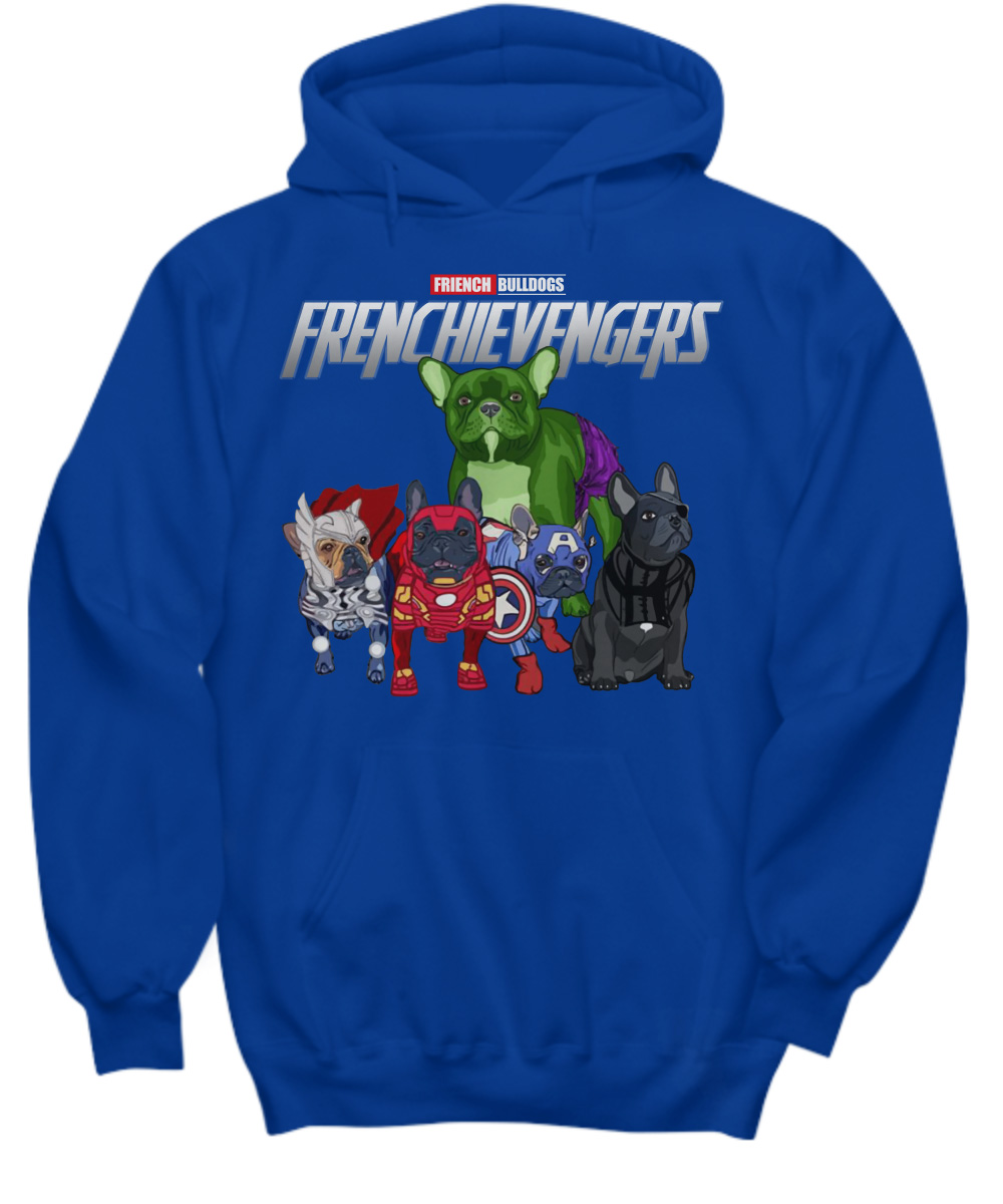 Frenchievengers French Bulldog Frenchie Avengers hoodie