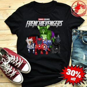 Frenchievengers French Bulldog Frenchie Avengers shirt