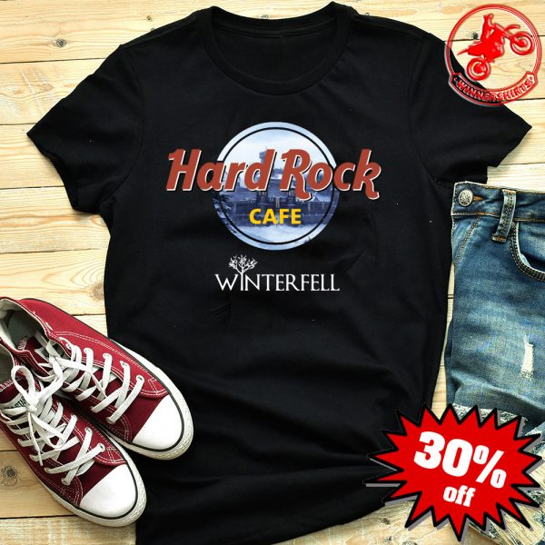 Hard Rock Cafe Winterfell Game Of Thrones shirt