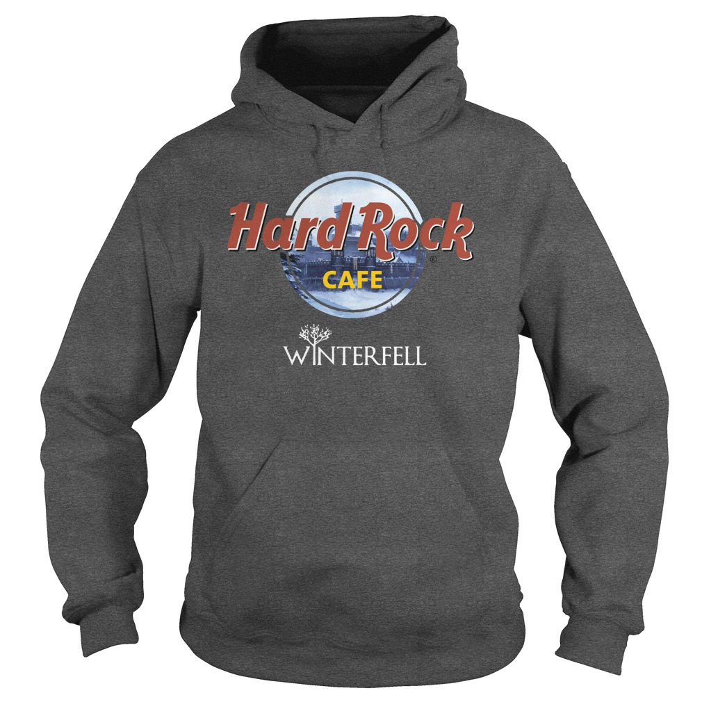 Hard Rock Cafe Winterfell Game Of Thrones hoodie