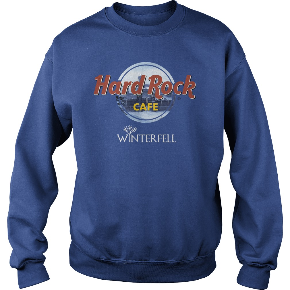 Hard Rock Cafe Winterfell Game Of Thrones sweatshirt