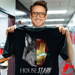 House Stark Iron Man Game Of Thrones shirt