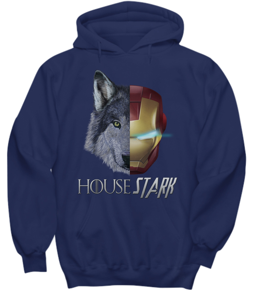 House Stark Iron Man Game Of Thrones Hoodie