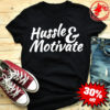 Hussle and Motivate Nipsey Hussle Hip-Hop Rap Graffiti Shirt