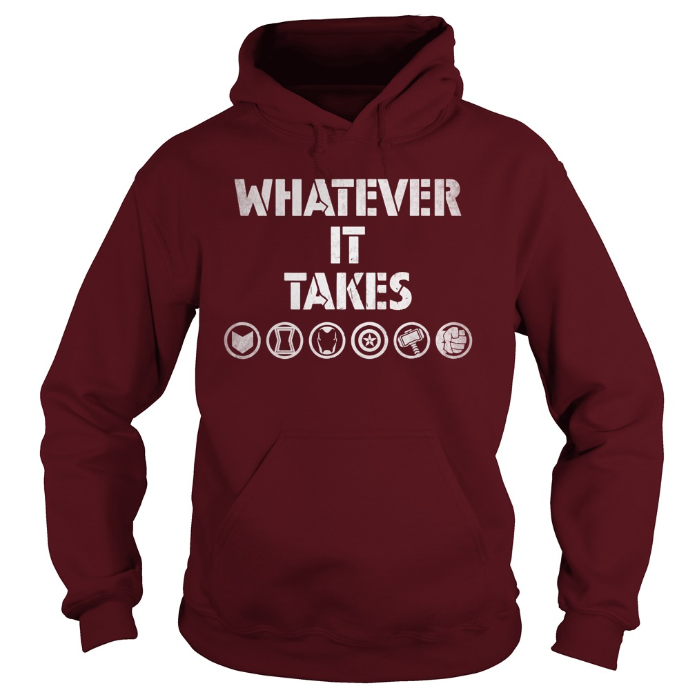Marvel Avengers Endgame Whatever It Takes hoodie