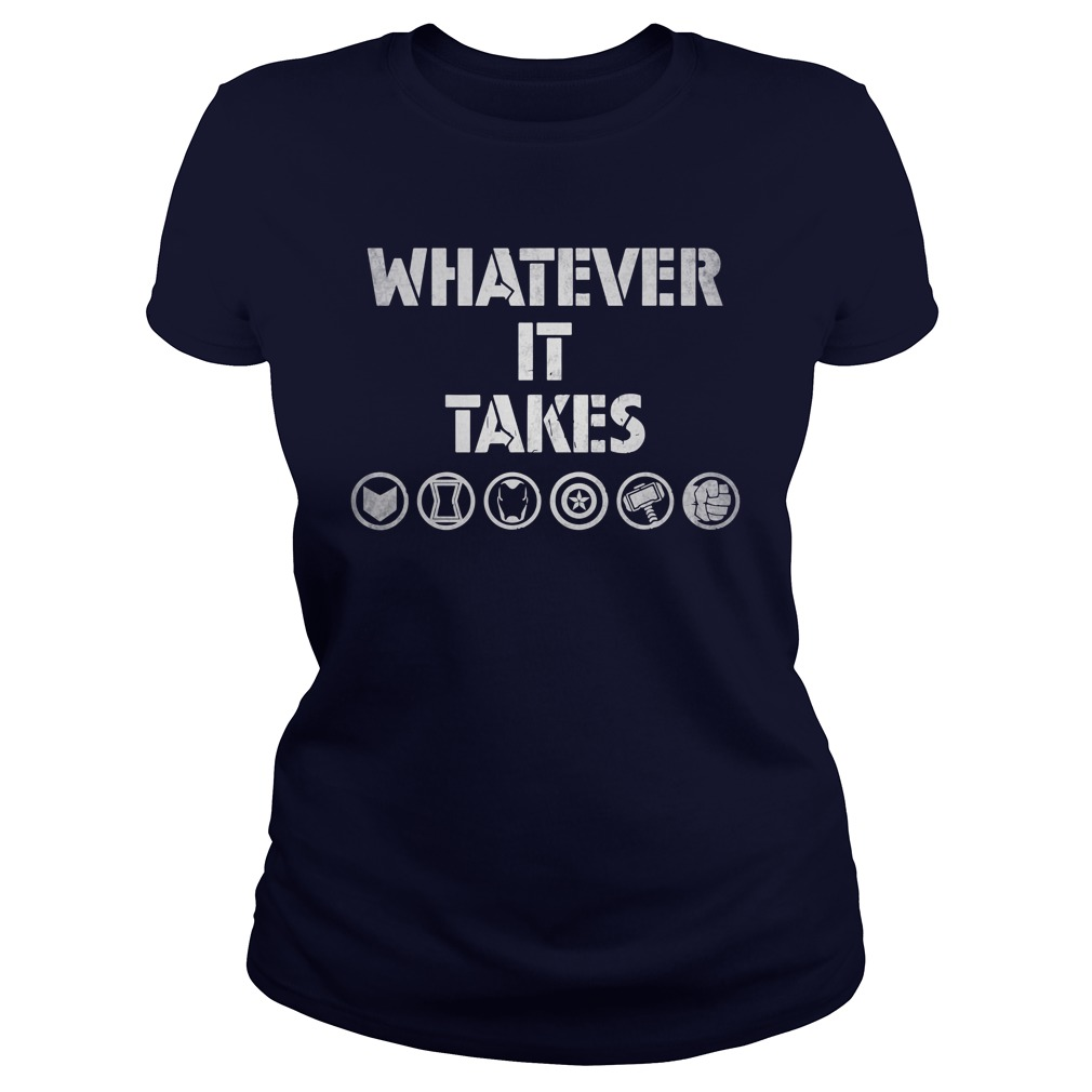 Marvel Avengers Endgame Whatever It Takes lady shirt
