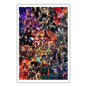 Marvel Super Heroes All Endings Poster