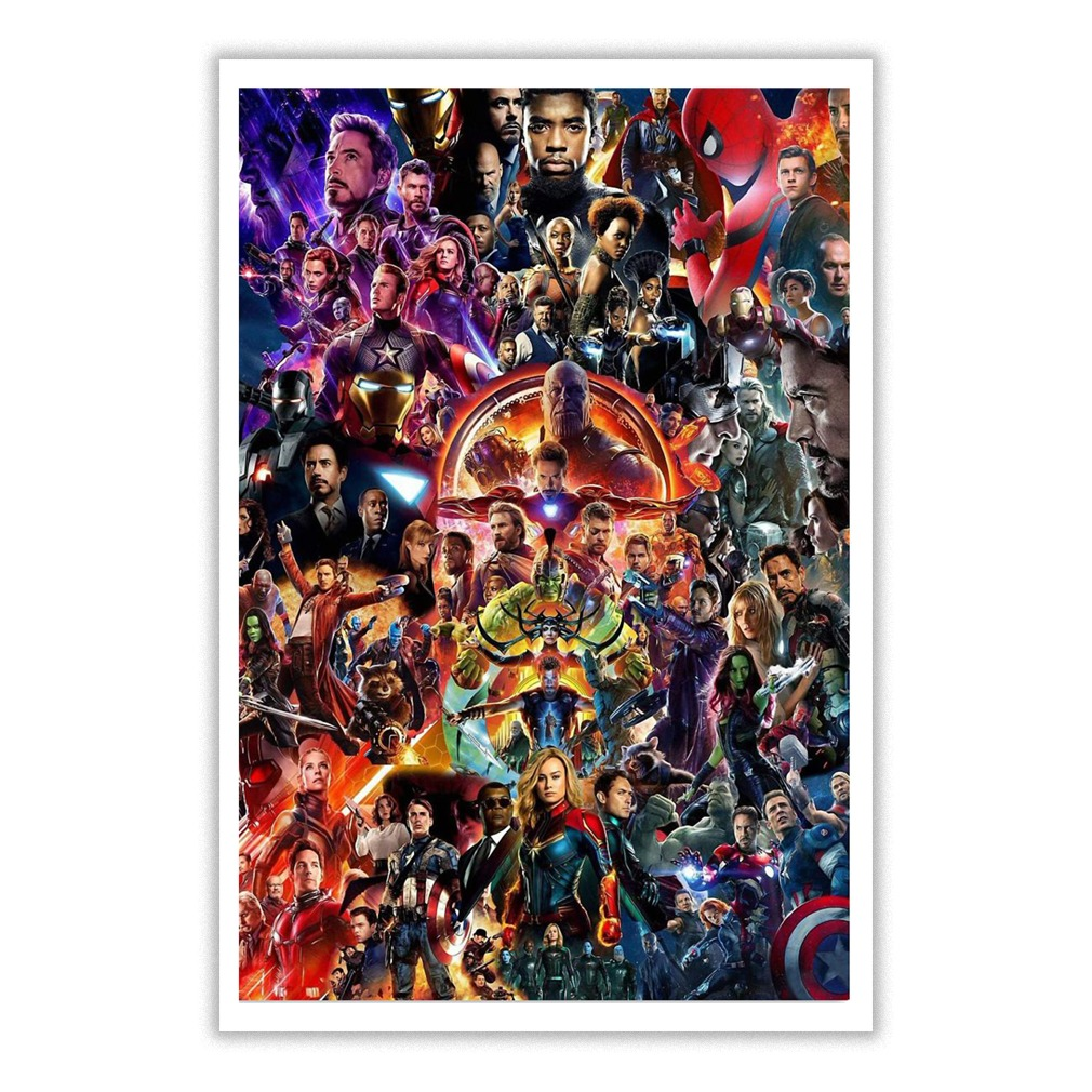Marvel Super Heroes All Endings Small Poster